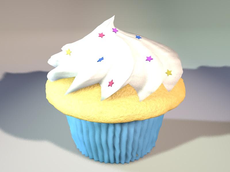 ~3D Cupcake~ by LexaWalker