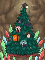 ~Crystal Island Christmas Tree!~