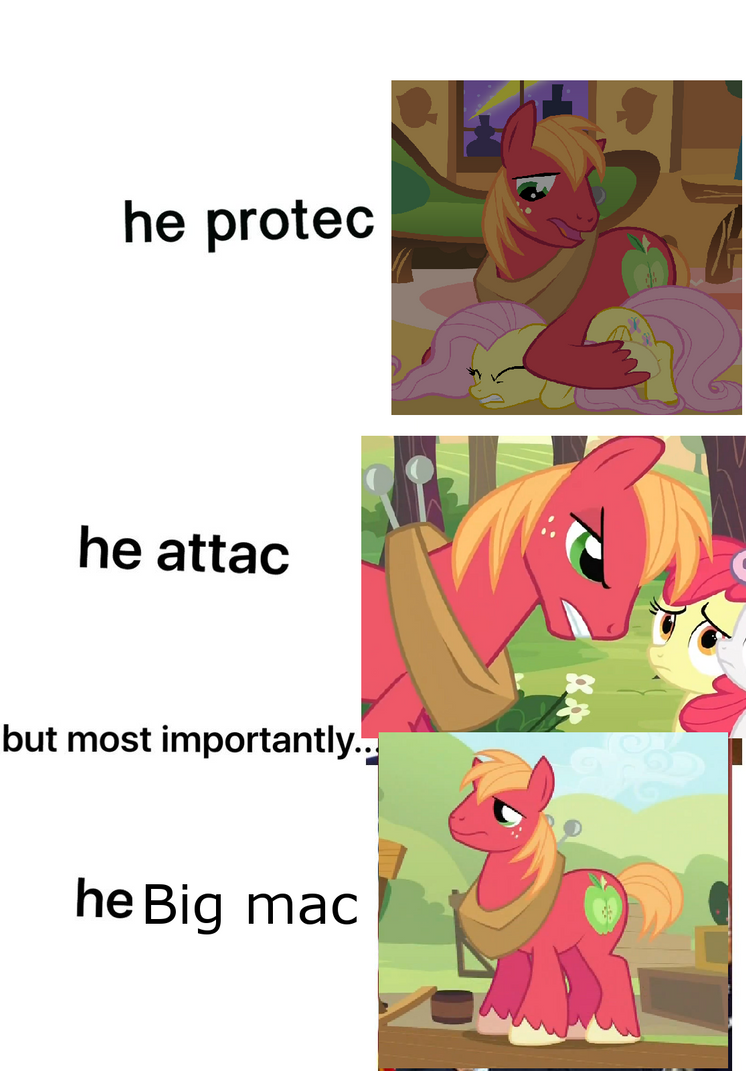 He big mac by scamer38