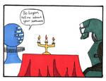 ME2 comic: A.I. date
