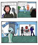 ME2 comic: crazy girlfriend