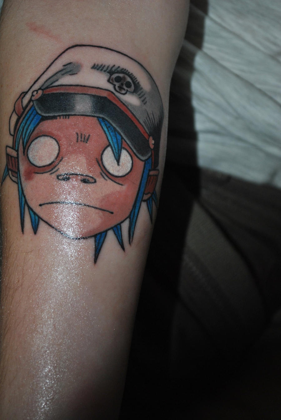 2D Tattoo again. by AttackReanimate