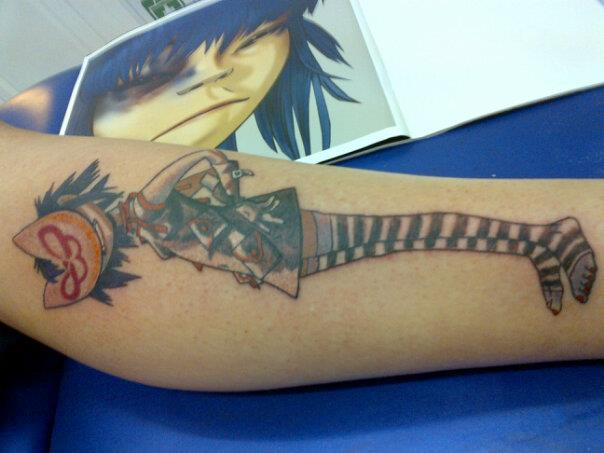Noodle Tattoo by AttackReanimate