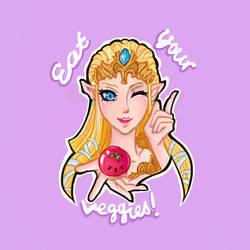 Zelda says: