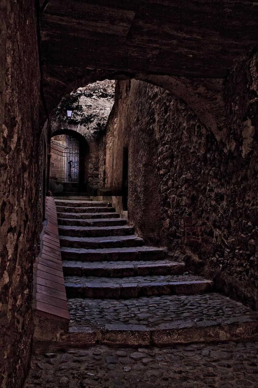 Abbay d'St Martin Steps Stock by BeauNestor
