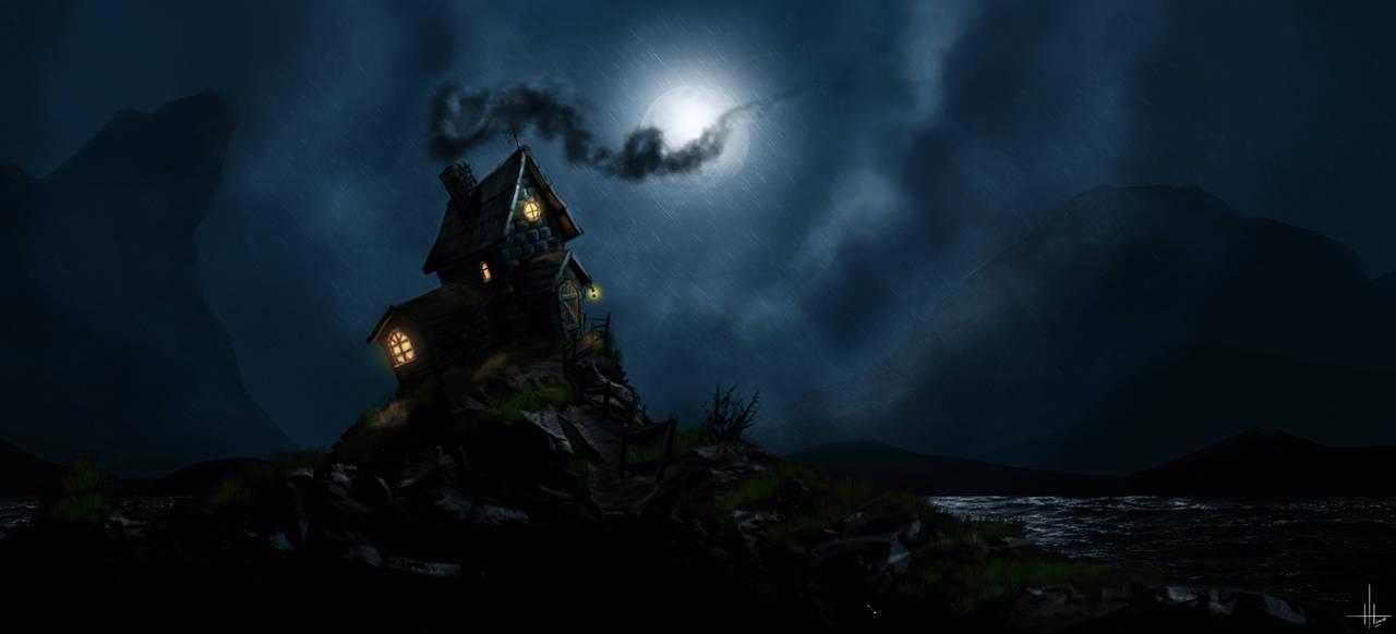 Speed Painting Dark Night by leeislee