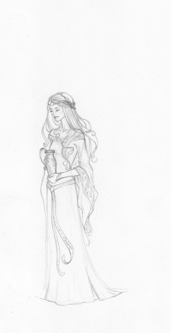 The Lady of Lorien by Achen089