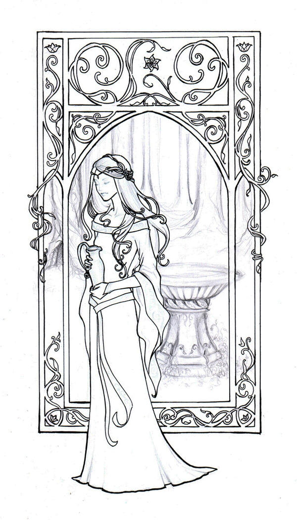 how to draw mucha style