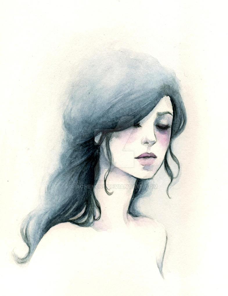 The Swan Maiden by Achen089