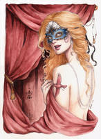 Masked Mockingbird by Achen089