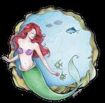 The Mermaid named Ariel by Achen089