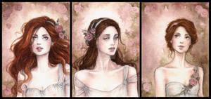 Rose Garden ACEO