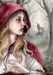 ACEO Red Riding Hood