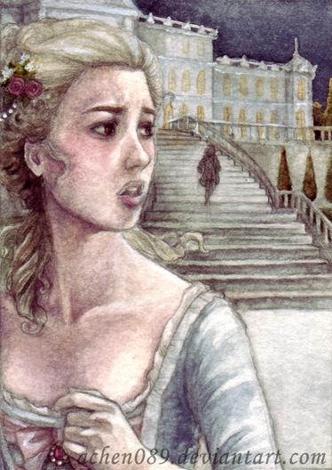 ACEO Cinderella by Achen089