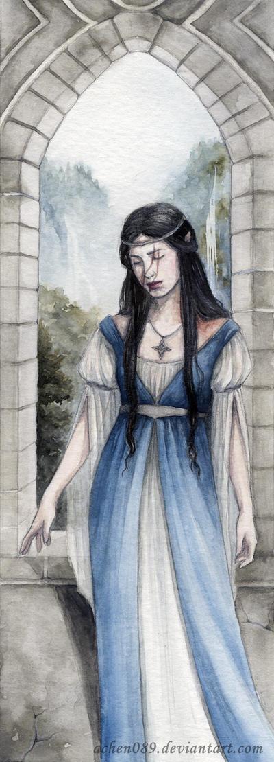 Lady Anutar Bookmark by Achen089