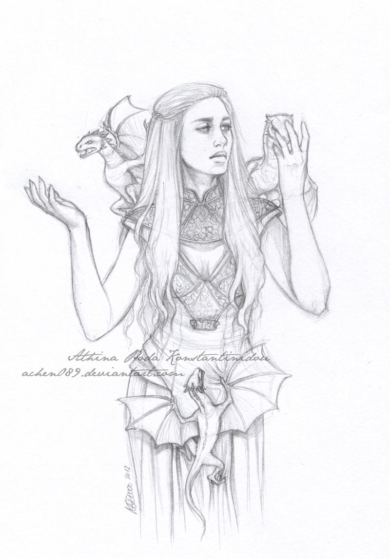 mother of dragons by achen089 on deviantart