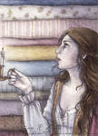 ACEO The Princess and the Pea