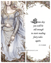 Sleeping Beauty Bookmark by Achen089