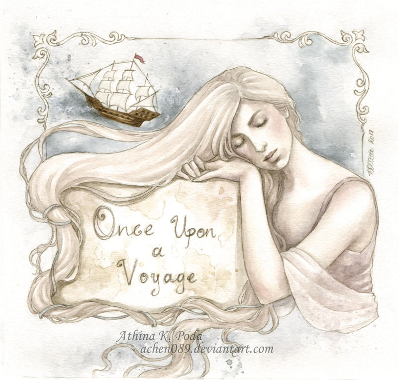 Once Upon a Voyage CD Cover by Achen089