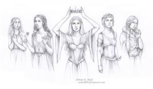 ASOIAF - Queens of Prophecy