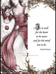 Snow White Bookmark by Achen089