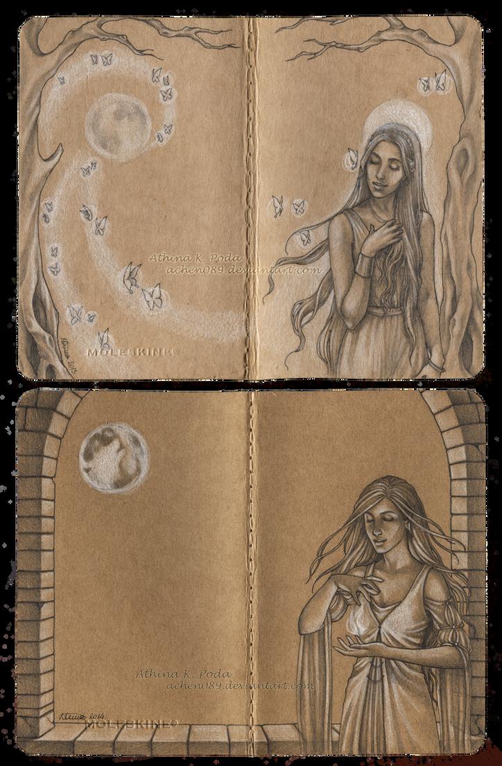 Journal Commission : Eliana by Achen089