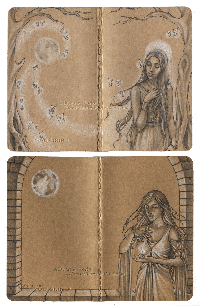 Journal Commission : Eliana by Achen089