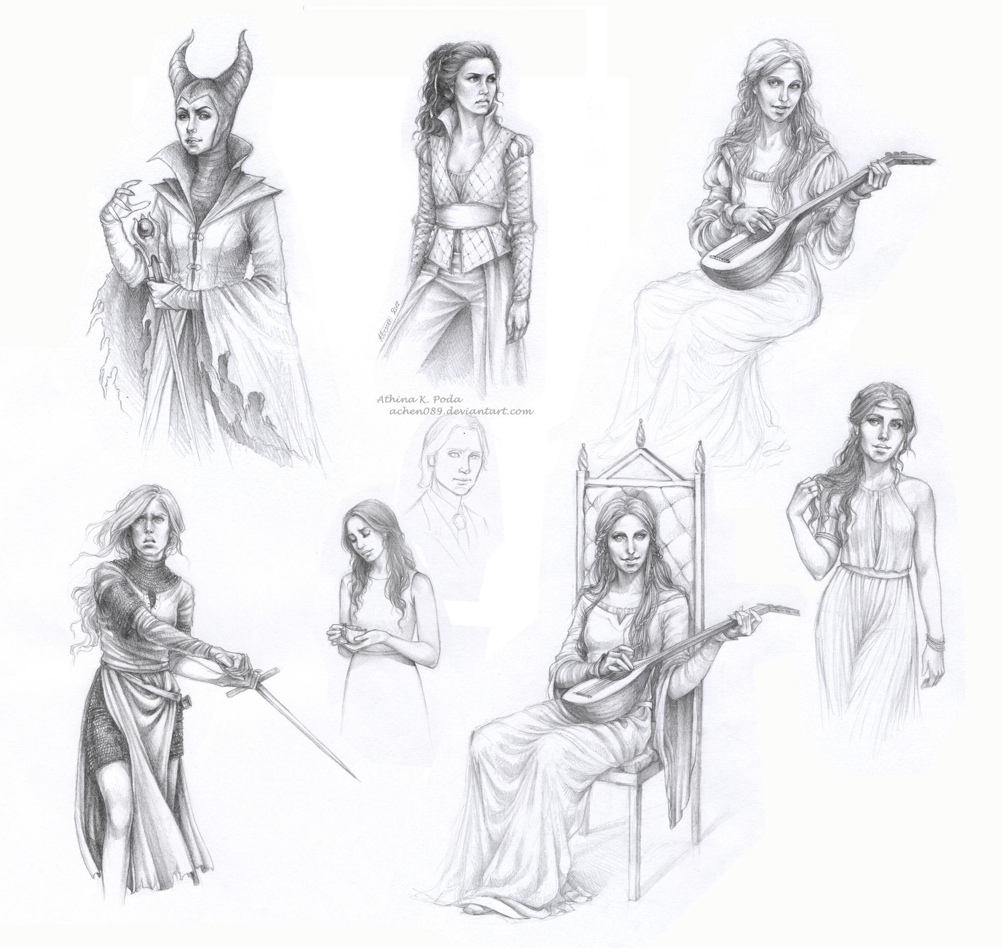 Sketches by Achen089