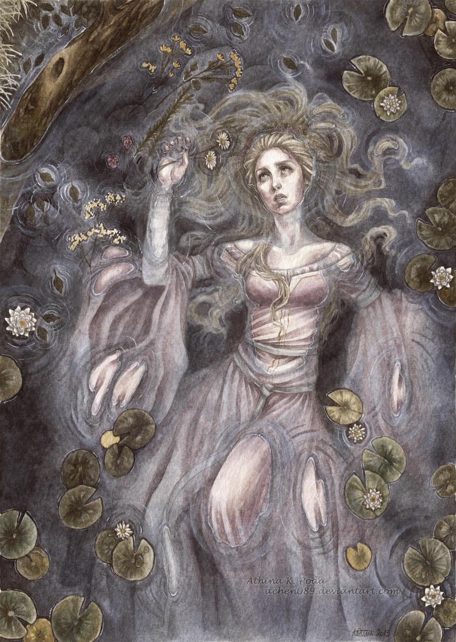 Ophelia by Achen089