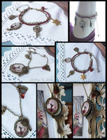 Snow White Jewelry Collection by Achen089
