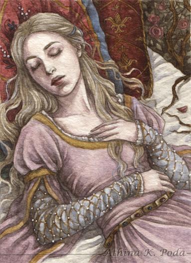 ACEO : Sleeping Beauty II by Achen089