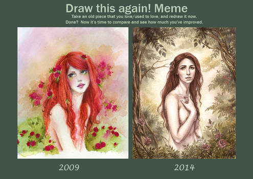 Meme Before And After Rose