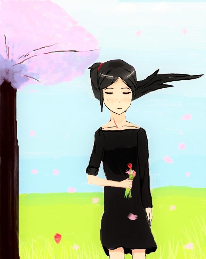 Rika Matsuoka - cherry tree by Rika-RiaStar