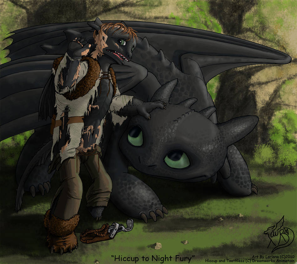Hiccup Riding Toothless - images - YouTube