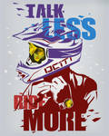 Talk Less Ride More Poster