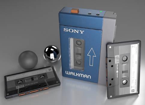 Walkman Render