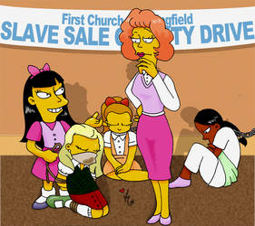 The Simpsons -  Biblical Scene by kalahee