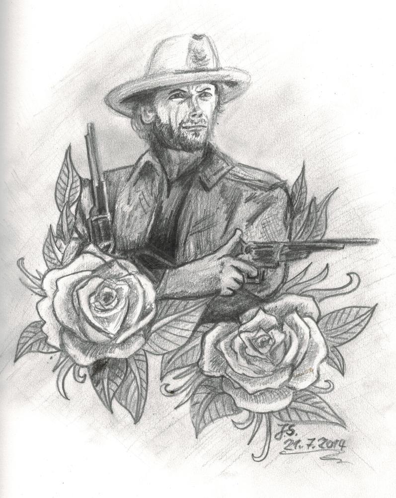 Gunslinger by Woschaebedip