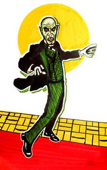 Inktober16 #6 Doug Jones/Nosferatu