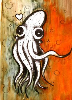 Inktober16 #8: Octopus