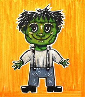 Inktober16 #9: Frank's little creature