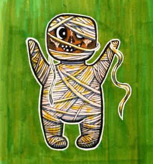 Inktober16 #10: Tiny Imhopet