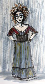 Inktober16 #18: Mrs. Lovett