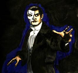Inktober16 #26: The Phantom by Woschaebedip