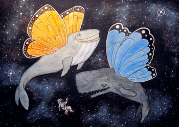 Blubber Flys by Woschaebedip