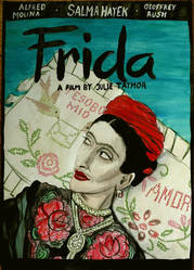 Frida Poster by Woschaebedip