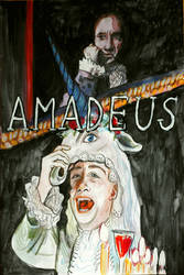 Amadeus Poster by Woschaebedip