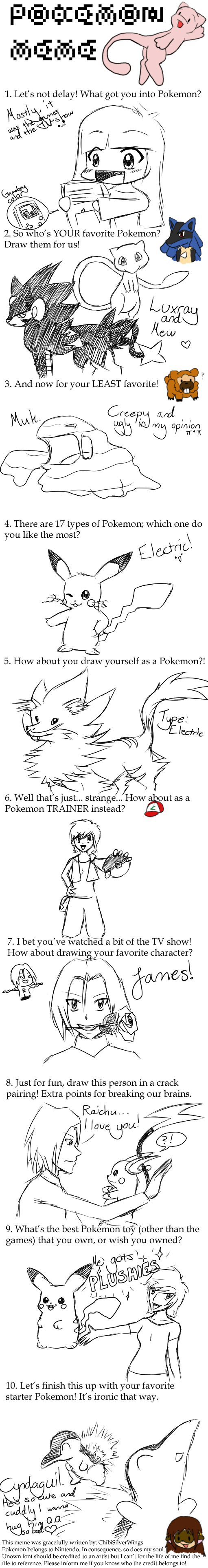 Pokemon meme by JenBlackWolf