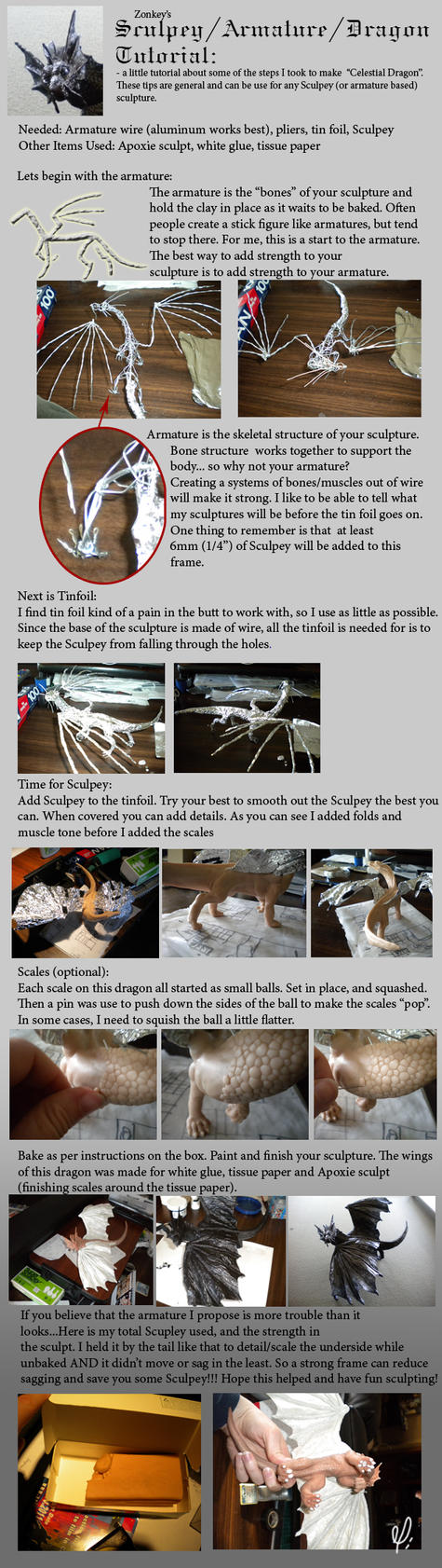 Sculpey Tutorial by zonkey