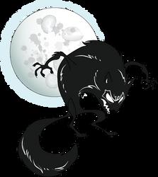 Werewolf-moon by zonkey